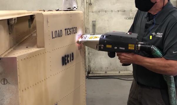 Laser demo
