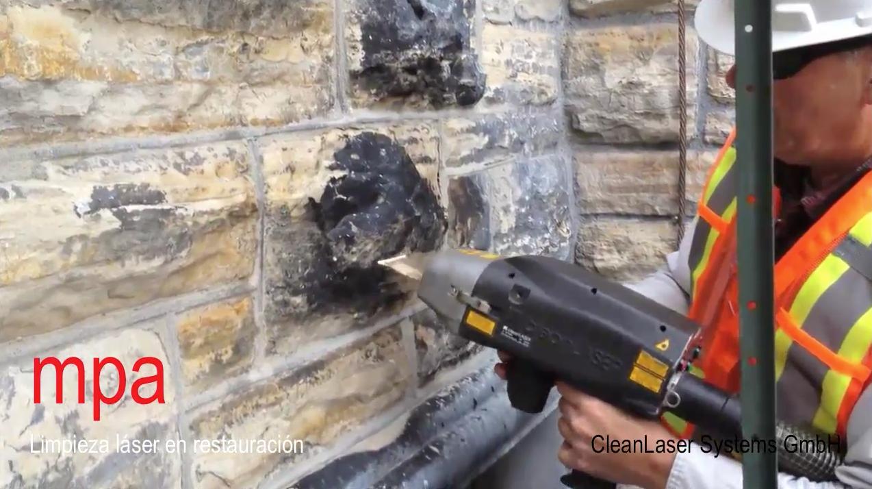 Limpieza láser en restauración de patrimonio